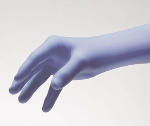 Pulse® Exam Gloves, Nitrile, Chemo, PF, Textured, ThinFilm, Dark Lavender, case/2000
