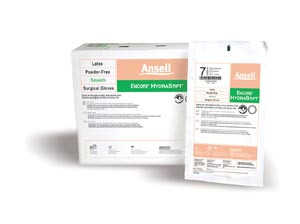 Ansell Encore® Hydrasoft Surgical Gloves, Sterile, Powder-Free with Glycerol, Latex, 200 pairs