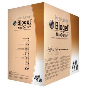 Biogel® Neoderm® Surgical Gloves, Sterile, Polychloroprene, Powder-Free, case/200