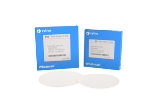 Whatman® 10311809 Filter Paper Circles, 90mm, Grade 597, pack/100