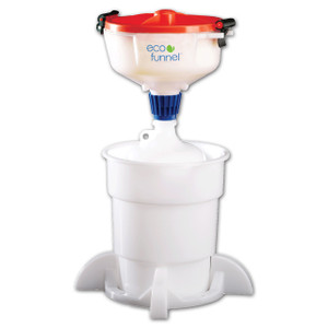"8"" ECO Funnel® System, 4 liter, 38-430 Cap with Secondary Container"
