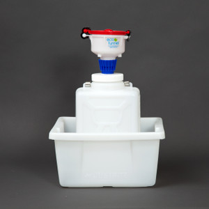 "4"" ECO Funnel® System, 9 Liter, 100mm, Secondary Container"