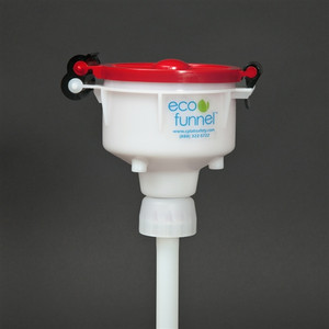 "4"" ECO Funnel® with 38-400 cap adapter for Plastic Jugs"