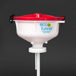 "8"" ECO Funnel® with 70mm 8TPI cap adapter (Rieke FS70)"