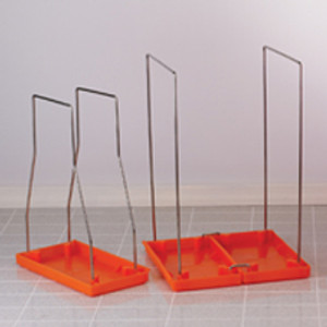 Small Bag Stand with 100 Biohazard Bags