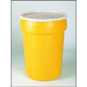 Eagle® Drum Containment 30 gal Lab Pack Drum, Plastic Lever-Lock Ring