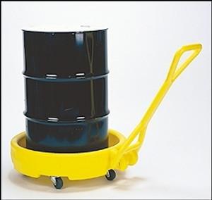 Eagle® Drum Cart, Drum Bogie Mobile Dispensing Unit for 30, 55 and 95 gal Drums