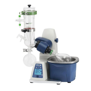 SCI100-Pro 5L Rotary Evaporator, Vertical Dry-Ice Condenser, Motorized Lift w/ 5L Bath, 1000ml Evaporating Flask, 1000ml Receiving Flask