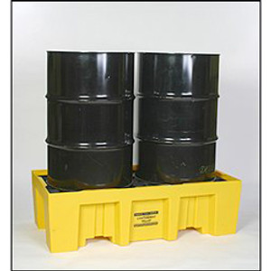 Eagle® 2-Drum Tall Spill Pallet, 66 gallon Sump