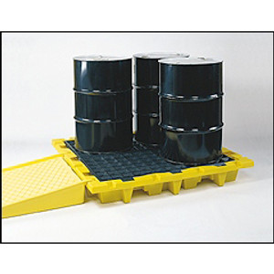 Eagle® Drum Platform, 4-Drum Nesting Containment Pallet