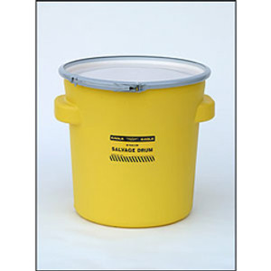 Eagle® Drum Containment 20 gal Lab Pack Drum, Metal Lever-Locking Band