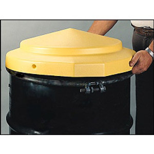 Eagle® Drum Cover, Plastic for 55 gallon Open Head Drums, Each
