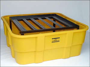 Eagle® IBC Platform, 400 gal IBC Containment Unit, Poly and Steel