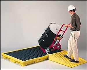 Eagle® Drum Platform, 6-Drum Low Profile Spill Platform