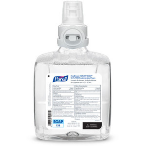 Purell® Healthcare Healthy Soap® 0.5% PCMX Antimicrobial Foam Refill for CS8 dispensers, 1200mL, pack/2