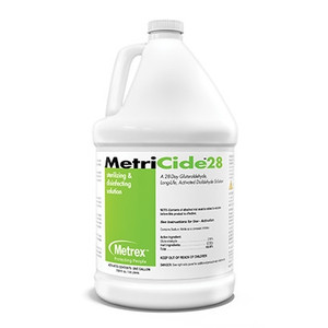 MetriCide-28 Disinfecting Solution, 1 gallon, case/4