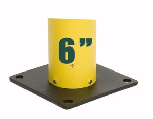 """Eagle® Poly Base for 6"""" Bollard Covers / Post Sleeves"""