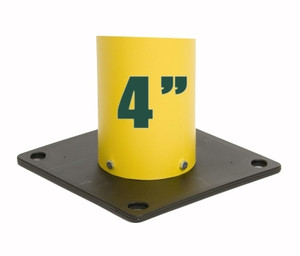 """Eagle® Poly Base for 4"""" Bollard Covers / Post Sleeves"""