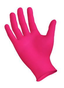 StarMed® Powder-Free Pink Nitrile Exam Gloves, Textured Fingertip, Small, 200/box, 10 boxes/case