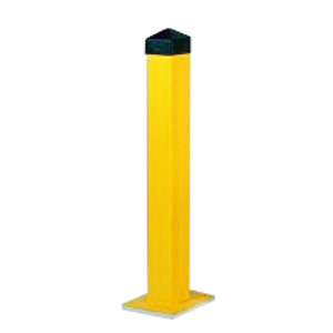 "Eagle® Steel Bollard Post, 5"" x 42"" Square"