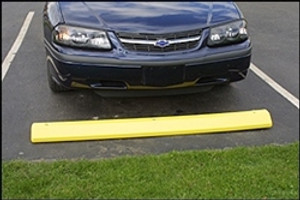 Eagle® Parking Stop, Yellow Polyethylene Car Parking Stops