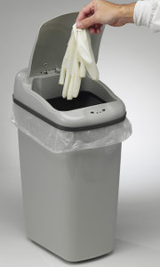 Hands-Free Automatic Trash Can 8.7 Gallon (33L), Gray PP