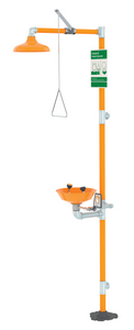Safety Station with Eyewash, Plastic Bowl