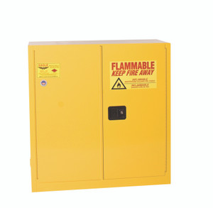 Eagle® Flammable Cabinet, 30 gallon Cabinet, Self-Closing