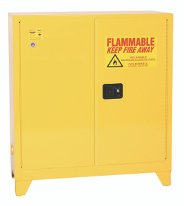 Eagle® Flammable Cabinet, 30 gallon Tower 2 Doors, Manual close
