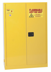 Eagle® Flammable Cabinet, 45 gallon, Manual Close