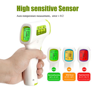 Non-Contact Thermometer, Hand Held Instant-Read Infrared Temperature Gun