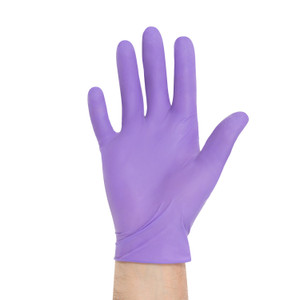Halyard Purple Nitrile Disposable Exam Gloves, Medium, case/1000