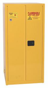 Eagle® Flammable Cabinet, 60 gallon EAGLE, 2 Door, Self-Closing