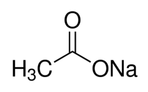 Sodium Acetate Anhydrous Free-Flowing ACS Reagent 99.0%, 2.5 Kg