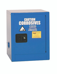 Eagle® Acid Safety Cabinet, 4 gallon 1 Door Self-closing for Corrosives