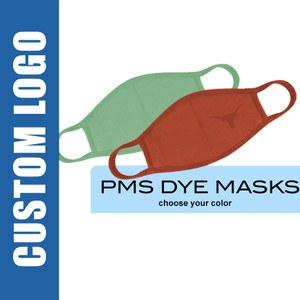 Bulk Custom Logo Face Masks, 2-Ply, 100% Cotton, Any Color, MOQ 500