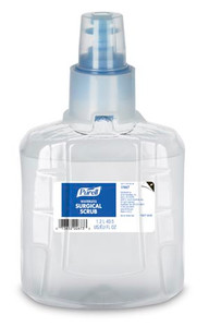 PURELL® Surgical Scrub Refill, 1200mL for LTX Dispensers, Clear, case/2