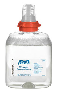 PURELL® Surgical Scrub Refill, 1200mL for TFX Dispensers, Clear, case/4