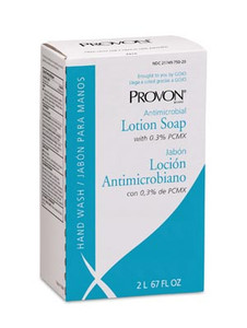 PROVON® Antimicrobial Lotion Soap Refill with 0.3% PCMX2000 mL for NXT Dispensers, 2000mL, case/4