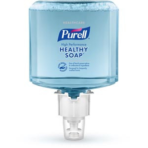 PURELL® High Performance Foam Refill for ES4 Push-Style Soap Dispensers, 1200mL, case/2