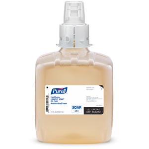 Healthy Soap® 2.0% CHG Antimicrobial Foam, 1250 ml, Amber, case/3