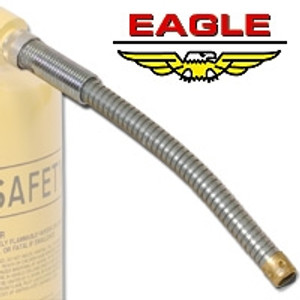 """Eagle® Type II Safety Can Replacement Spout, Flexible 12"""" x 7/8"""" FD-25-S x 5"""