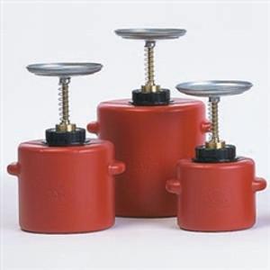 Eagle® Plunger Can, 4 Quart Polyethylene
