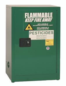 Eagle® Pesticide Safety Storage Cabinet, 12 gallon, 1 Door