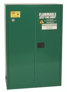 Eagle® Pesticide Safety Storage Cabinet, 45 gallon, 2 Door, Self-Closing