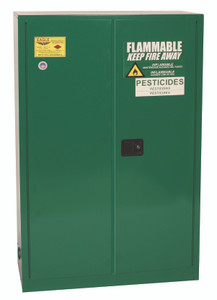 Eagle® Pesticide Safety Storage Cabinet, 45 gallon, 2 Door, Manual Close