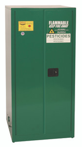 Eagle® Pesticide Safety Storage Cabinet, 60 gallon, 2 Door, Manual Close