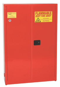 Eagle® Aerosol Safety Cabinet, 30 gallon, Aerosol Paint Can Storage, Manual