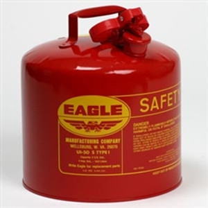 Eagle® Type I Safety Can, 5 gallon Eagle, Steel Construction