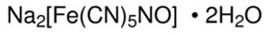 Sodium Nitroferricyanide(III) Dihydrate ACS Reagent 99% 100 Gram